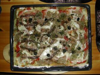 pizza lasagne rezept
